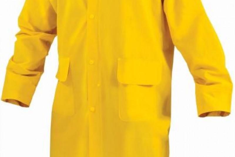 Płaszcz wodoodporny BREMEN żółty