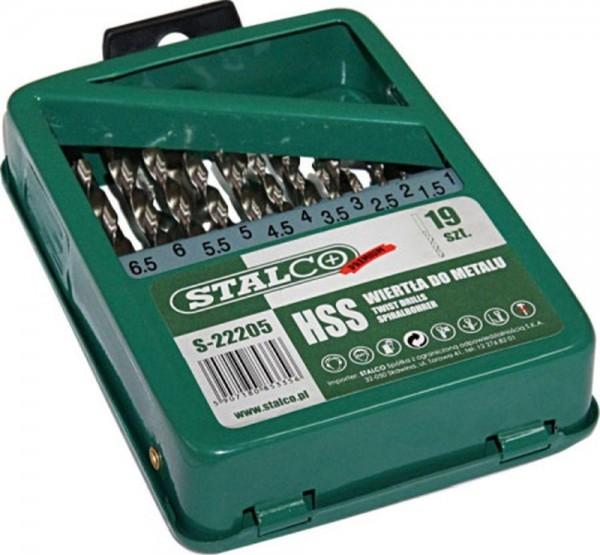 Wiertła do metalu S HSS 1,0 - 10,0 mm S-22205
